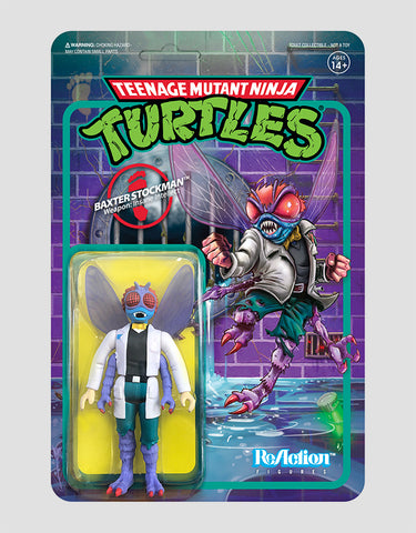 Super7 - Teenage Mutant Ninja Turtles ReAction Figure Wave 2 - Baxter Stockman