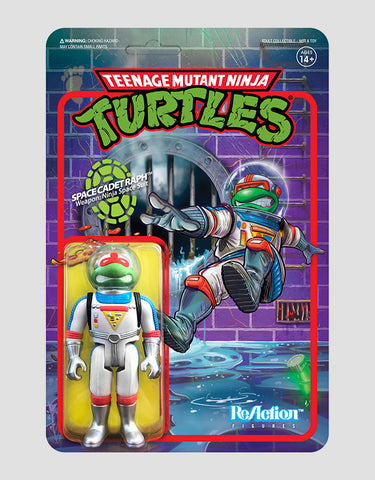 Super7 - Teenage Mutant Ninja Turtles ReAction Figure Wave 2 - Space Cadet Raphael