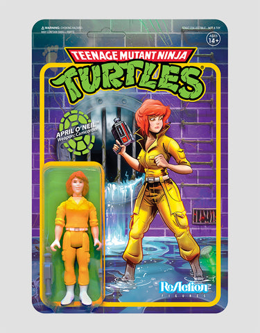Super7 - Teenage Mutant Ninja Turtles ReAction Figure Wave 2 - April ONeil