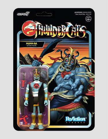 Super7 - ThunderCats ReAction Figure Wave 1 - Mumm-Ra