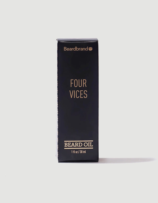 Beardbrand - Four Vices Beard Oil, 30ml