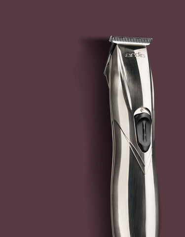 Andis - Slimline Pro Li T-Blade Trimmer (UK) - Chrome