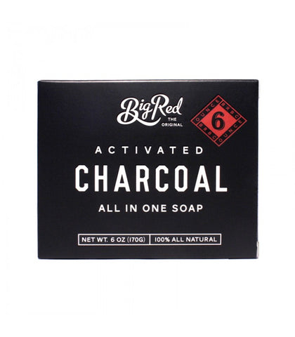 Big Red Beard Combs - All-In-One Soap Charcoal