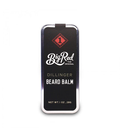 Big Red Beard Combs - Beard Balm 1 oz. tin, Dillinger