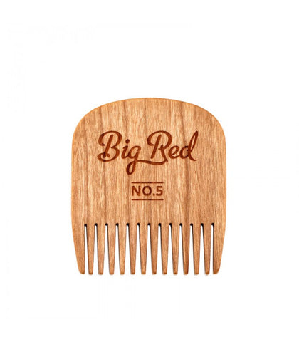 Big Red Beard Combs - No. 5 Cherry
