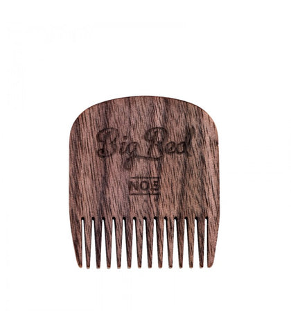 Big Red Beard Combs - No. 5 Walnut
