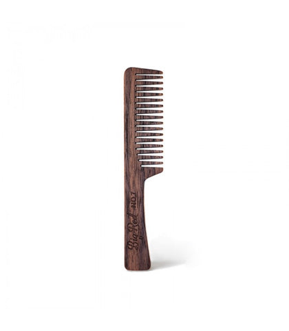 Big Red Beard Combs - No. 7 Walnut