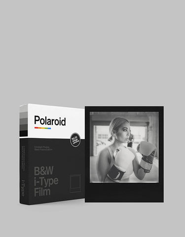 BnW Film for I-Type | Black Frame Edition