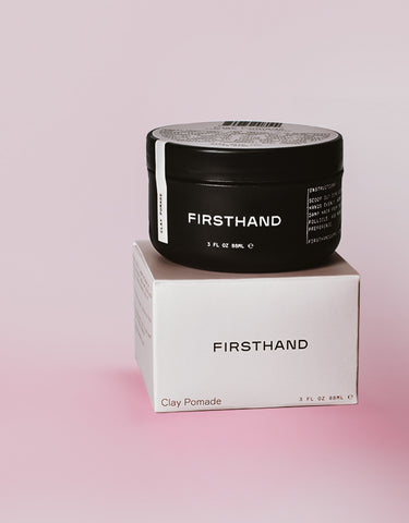 Firsthand Supply - Clay Pomade, 3oz