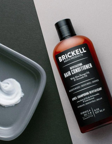 Brickell Men's Products - Revitalizing Hair & Scalp Conditioner