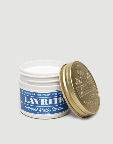 Layrite - Natural Matte Cream, 4.25oz