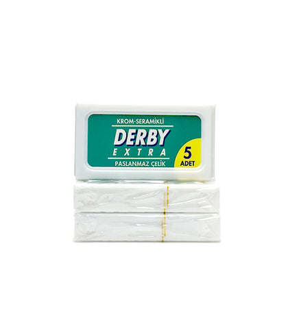 Derby - Extra Double Edge Razor Blades (5 pcs), 3 Pack