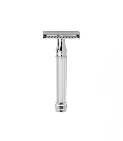 Edwin Jagger - Double Edge Safety Razor, Octagonal, Chrome Plated Metal
