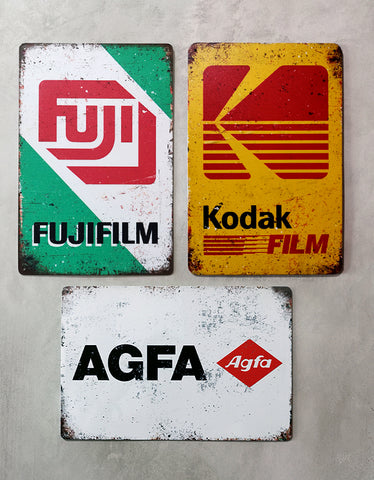 Photography Tin Signs