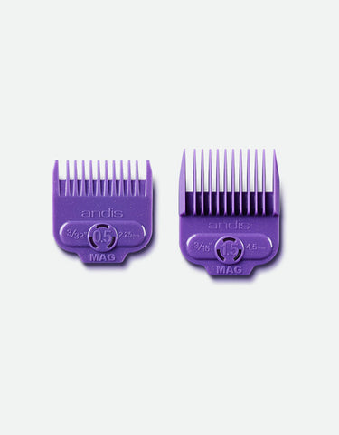 Andis - Magnetic Comb Set — Dual Pack 0.5 & 1.5