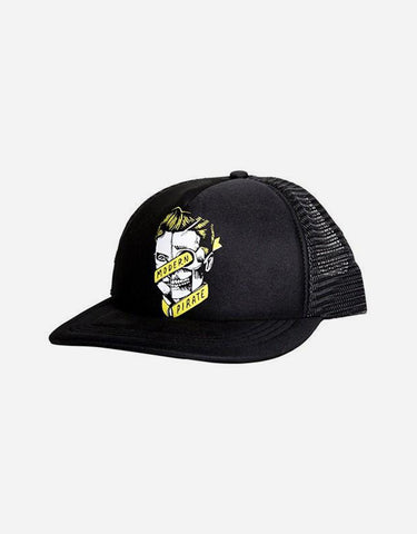 Modern Pirate - Junior Logo Trucker Hat (Yellow Logo)