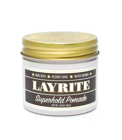 Layrite - Super Hold Pomade,4.25oz