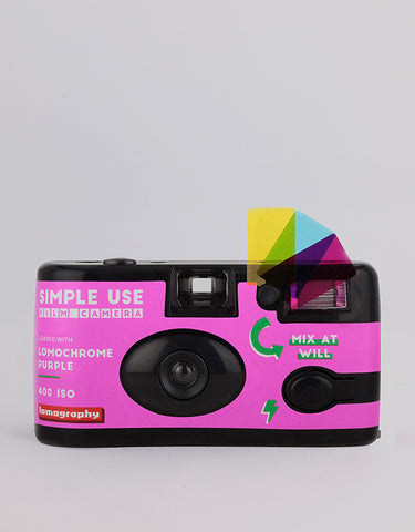 Lomography Simple Use Film Camera Lomochrome Purple