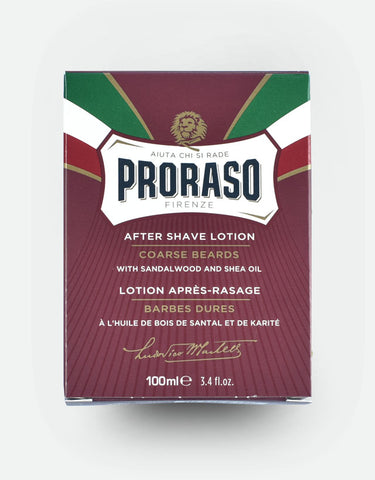 Proraso - After Shave Lotion, Nourishing Sandalwood, 100ml