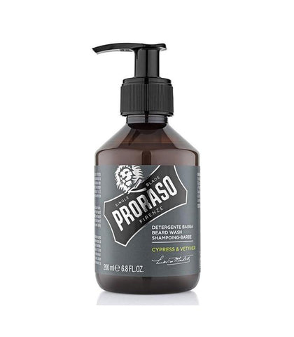 Proraso - Beard Wash, Cypress & Vetyver, 200ml