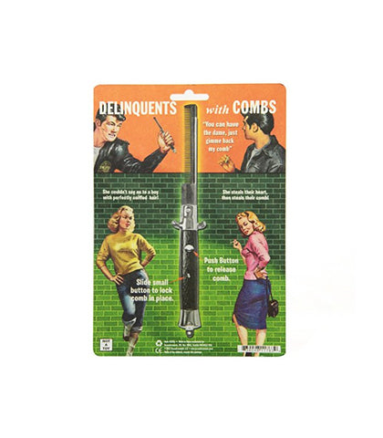 Archie Mcphee - Switchblade Comb