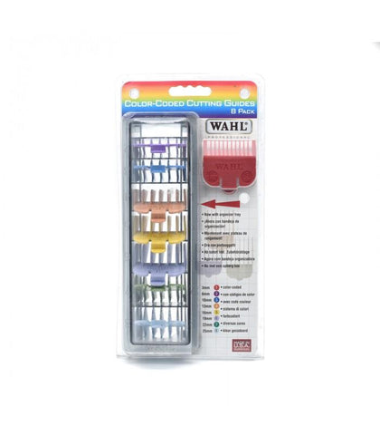 Wahl - 8 Color Coded Cutting Guides with Organizer