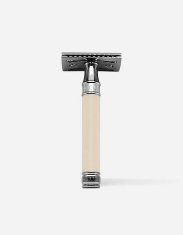 Edwin Jagger - Double Edge Safety Razor, Chrome Plated Metal