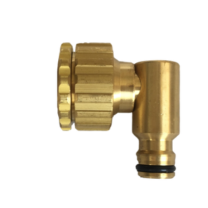 Tap Adaptor: ¾in & 1in to snap-on swivel elbow brass