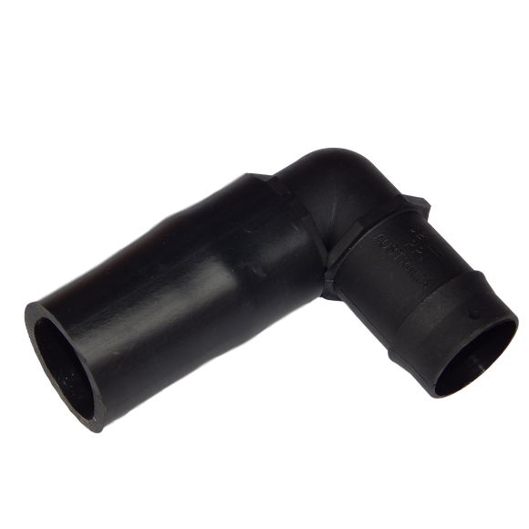 Adaptor: 40mm to 32mm sleeve & barbed elbow