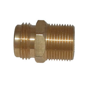 Thread Converter: USA tap to ½in BSP brass