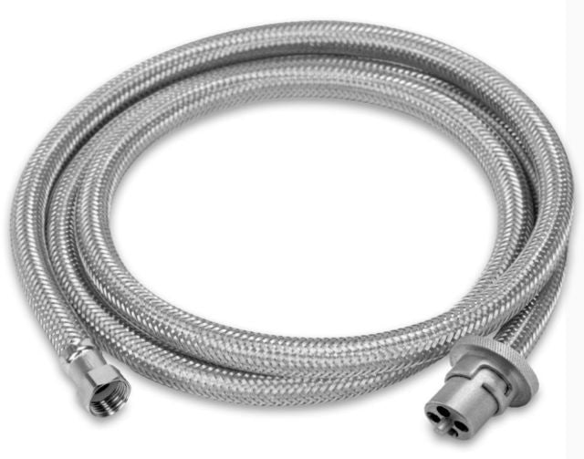 3M Braided Gas Hose - Male Bayonet