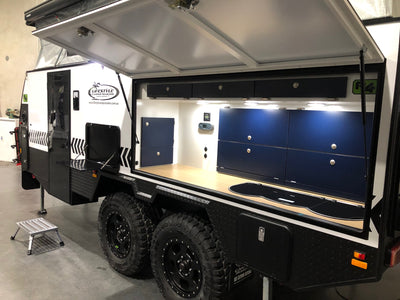 DEMO 2019 Lifestyle Camper Trailers - Reconn R4 (Bunk Layout)