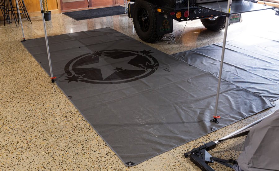 PATRIOT CAMPERS LOGO GROUND/FLOOR MAT
