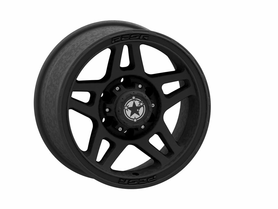 "PCOR 17"" SATIN BLACK WHEEL 5X150 N25 **79 SERIES LANDCRUSIER**"