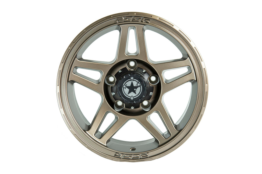 "PCOR 17"" SATIN BRONZE WHEEL 5x150 P35**200 SERIES LANDCRUSIER**"