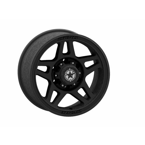 PCOR MULTI FIT RIM 17x9 SATIN BLACK WHEEL P10 6x139