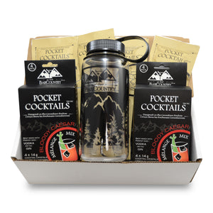 Pocket Cocktails Adventure Kit + Cocktail Shaker - 8 Packs (Mix N Match)