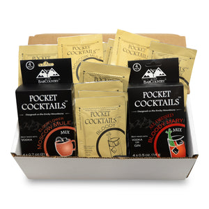 Pocket Cocktails Adventure Kit - 8 Packs (Mix N Match)