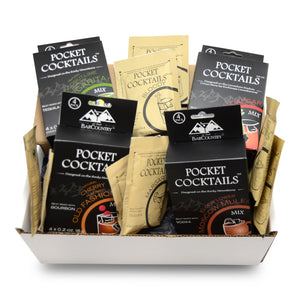 Pocket Cocktails Adventure Kit (variety pack) - 8 Packs