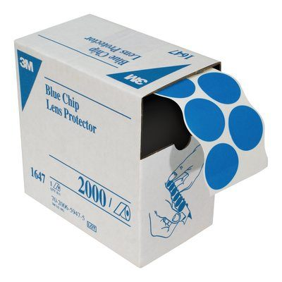 Blue Chip Lens Protectors. Pkg of 2000