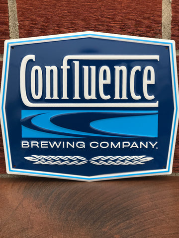 Confluence Tin Tacker Sign