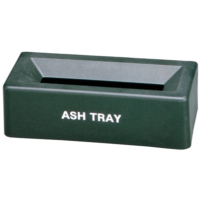 Ash Tray Wall Mount Plastic