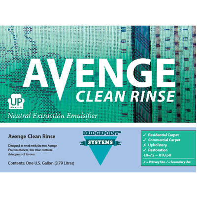 Avenge Clean Rinse Neutral Extraction Emulsifier