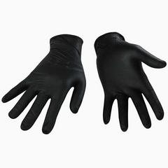 Nitrile 6 mil Black Disposable Glove by Wipeco,