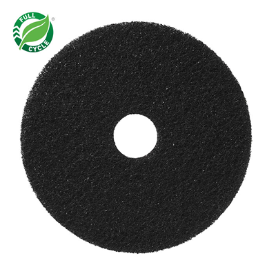 Black Heavy-Duty Stripping Floor Pad