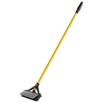 Maximizer™ Double Sided Broom/ Squeegee, Yellow