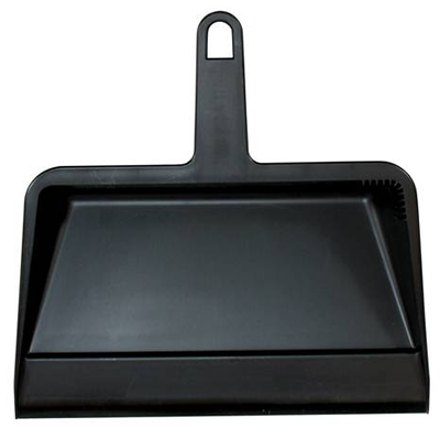 Dust Pan Plastic - Black