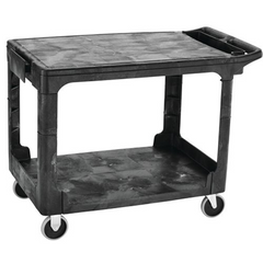 Heavy Duty Flat Handle Utility Cart