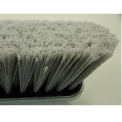 Gray Flagged Push Broom