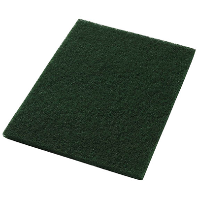 Green Scrubbing Floor Pad